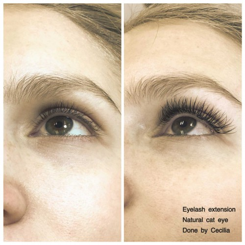 Befor and After Brow and Lash - Eyebrow, Eyelash, Permanent Makeup and Eyelash Extensions by experienced Makeup Artist & Esthetician Cecilia Lim located in Mercer Island, WA.