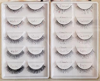 Eyelash Extension Types